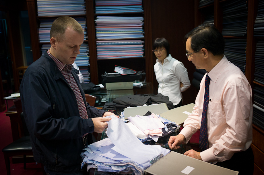 A-Man Hing Cheong Tailor in Hong Kong
