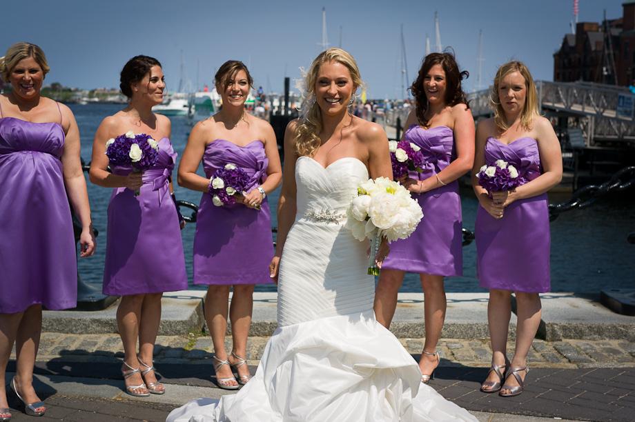 Wedding Photos on the Boston Harbor