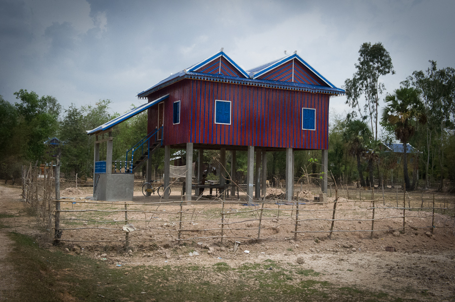 Upscale housing in Cambodia