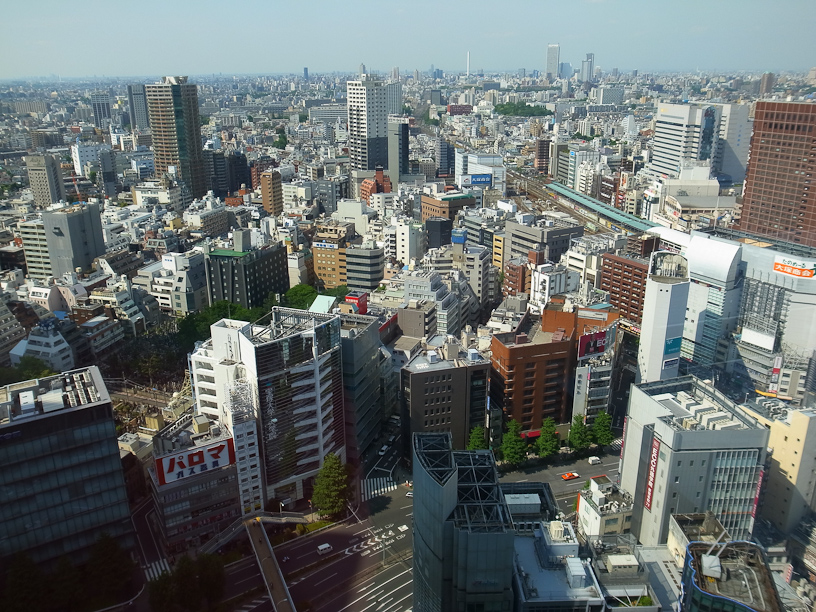 Shinjuku from above