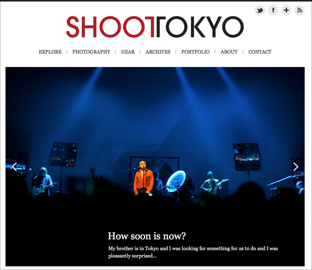 The New ShootTokyo