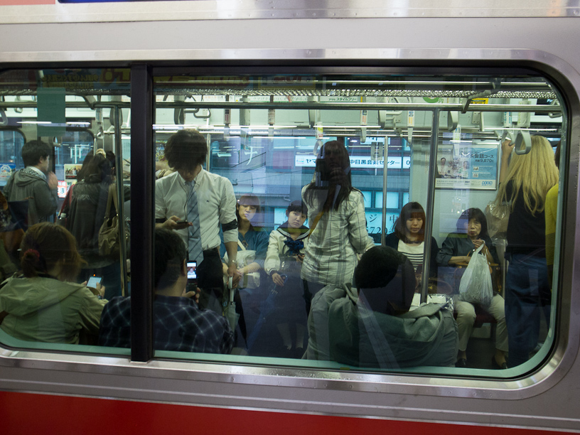 The train to Jiyugaoka
