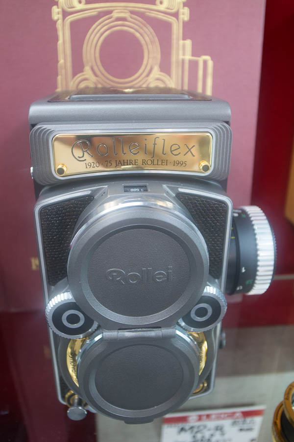 Gold Rolleiflex