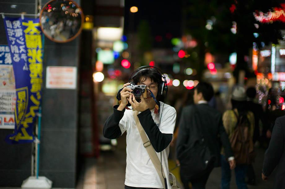 Shooter in Shinjuku