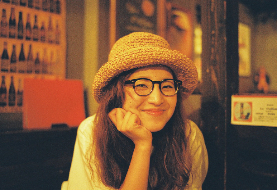 Funny girl at Frigo in Shinjuku