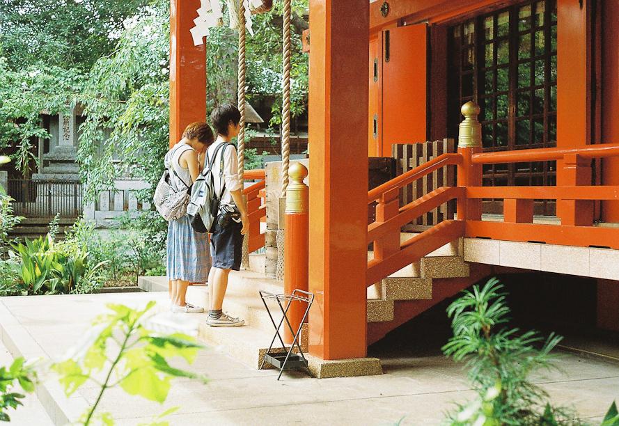 Temple in Jiyugaoka