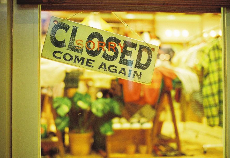 Closed come again