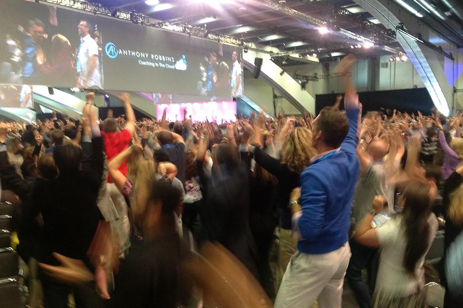 Tony Robbins at Dreamforce