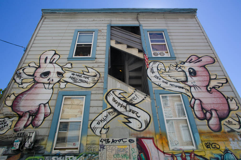 Mission District Street Graffiti