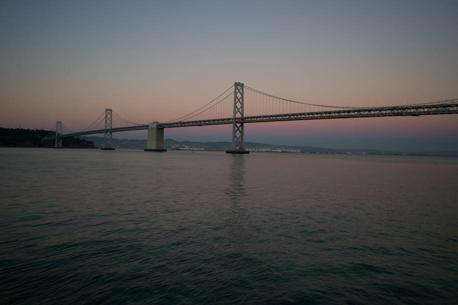 The Bay Bridge in San Francisco