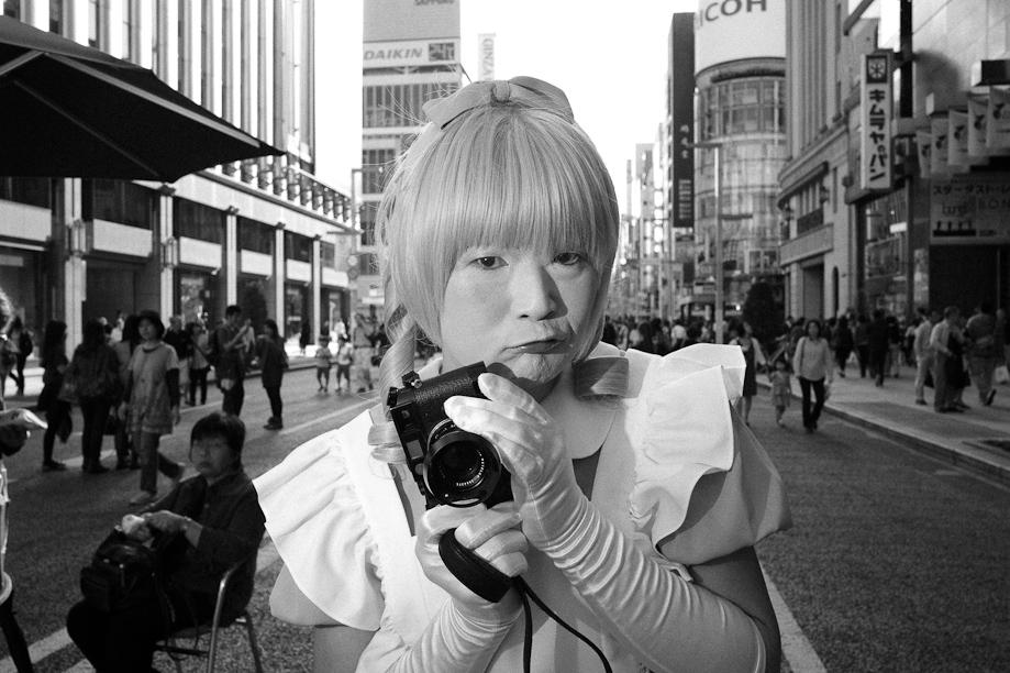 Bruce Gilden Tokyo Workshop