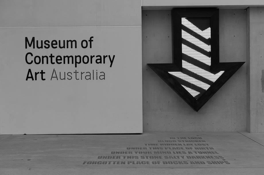 Museum of Contemporary Art in Sydney, Australia