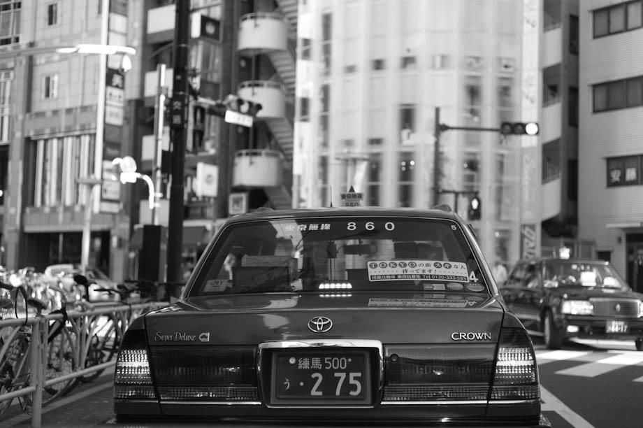 Taxi in Shibuya