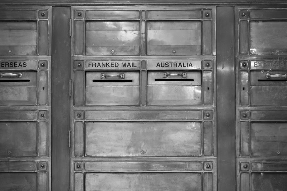 Mailbox in Sydney, Australia