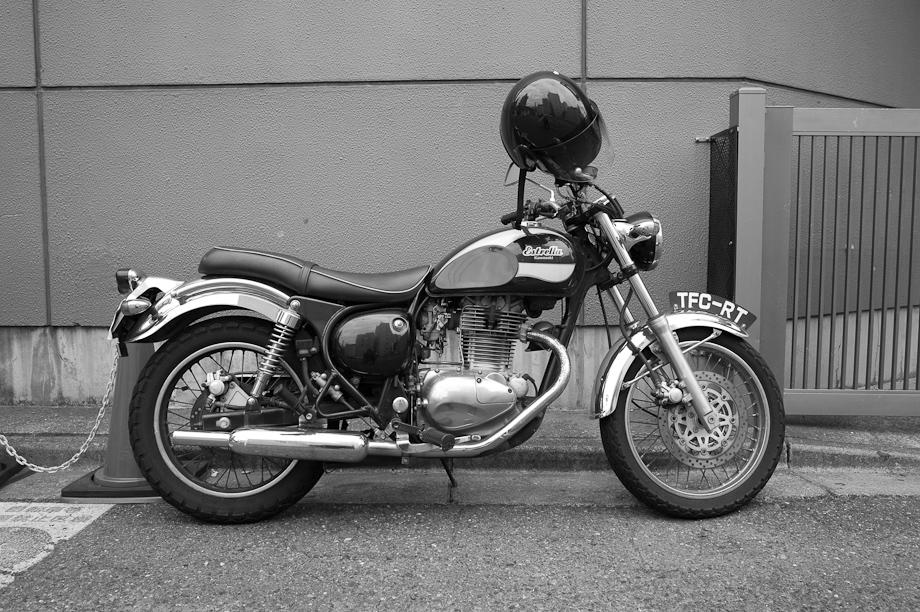 Motorcycle in Tokyo