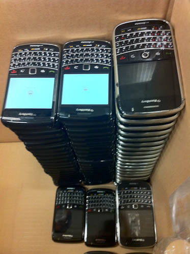 BlackBerry Graveyard
