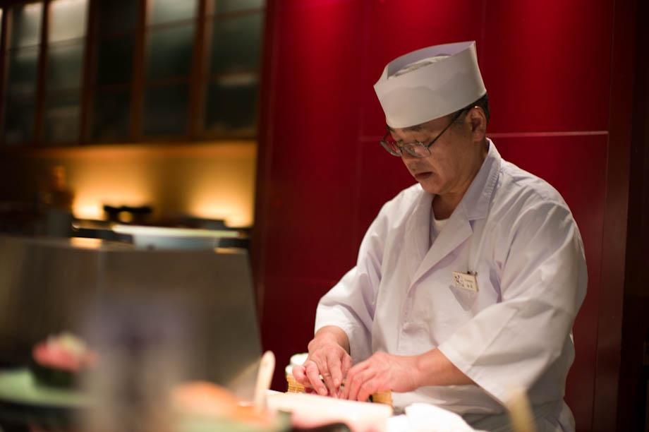 Kaiten Sushi in Roppongi Hills