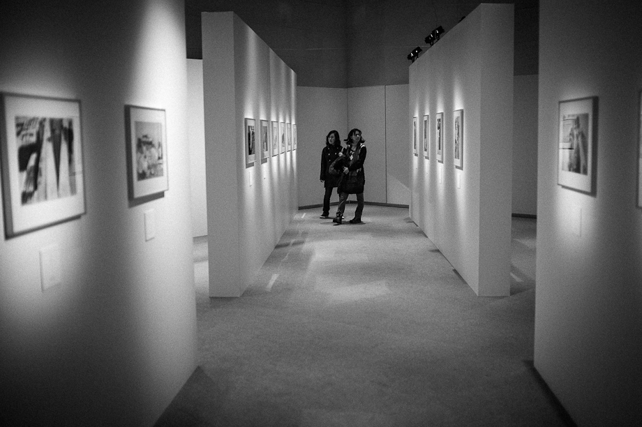 Henri Cartier-Bresson in Ginza, Tokyo, Japan