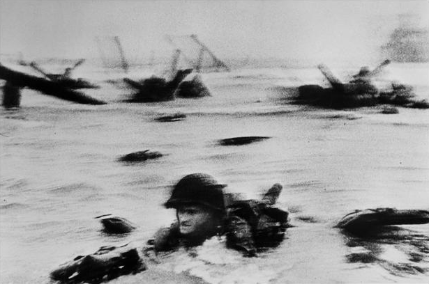 Robert Capa D Day Photography