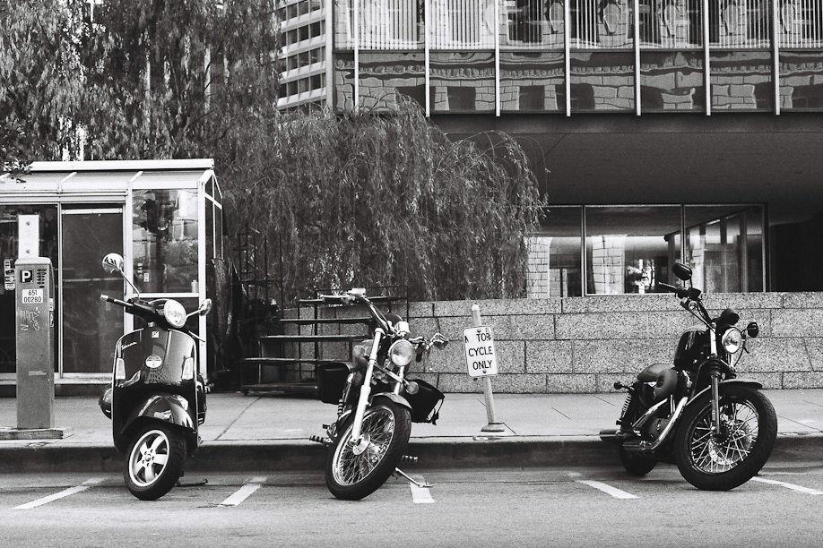 Motorcycle Parking in San Francisco