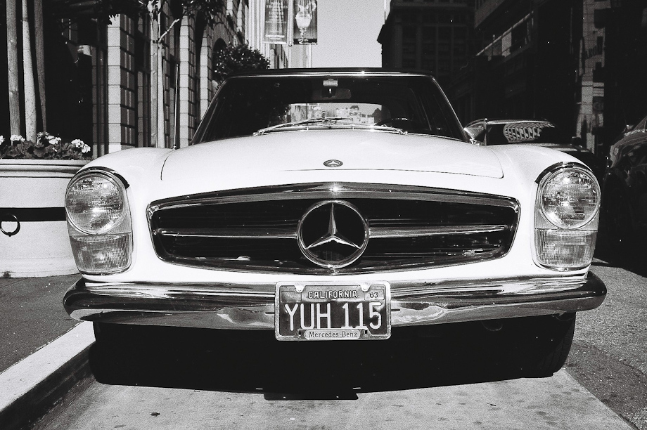 Mercedes in San Francisco