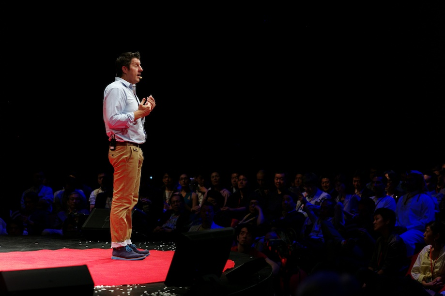 Patrick Newell speaking at TEDxTokyo 2013