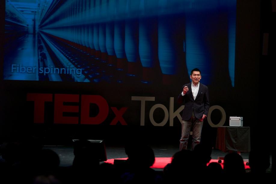 Kazuhide Sekiyama speaking at TEDxTokyo 2013