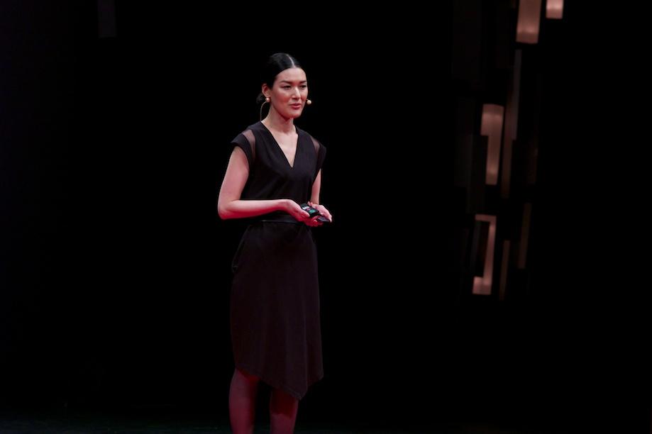 Ayako Suwa speaking at TEDxTokyo 2013