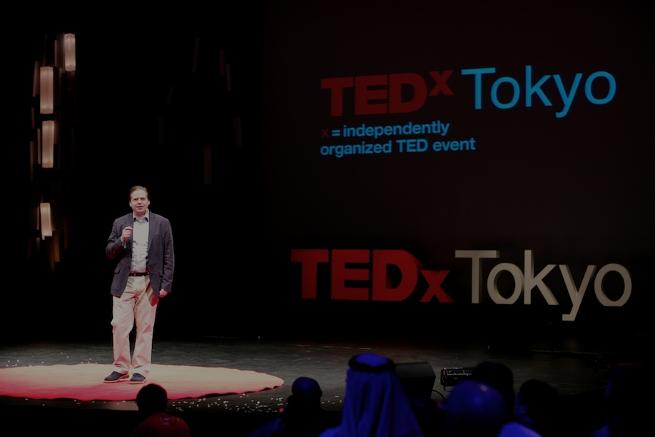 Eric Martinot speaking at TEDxTokyo 2013