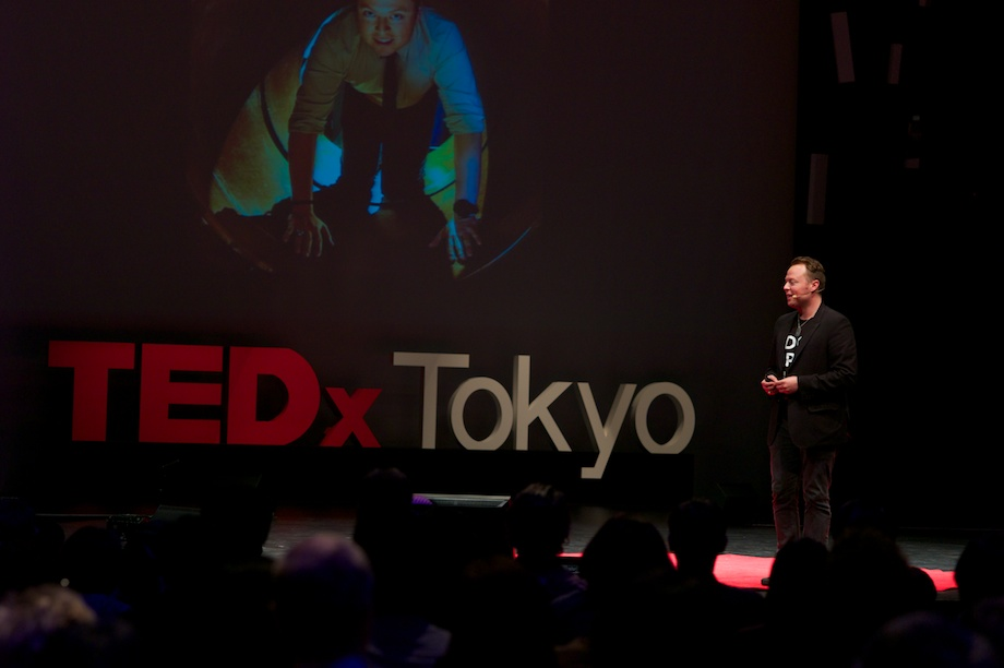 John Kluge speaking at TEDxTokyo 2013