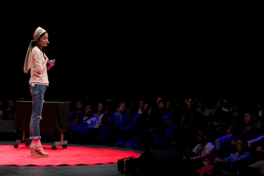 Rei Shito speaking at TEDxTokyo 2013