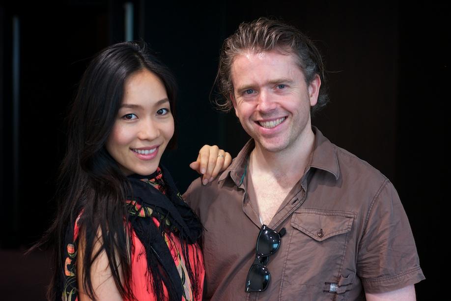 Lui Watanabe and Richard Grehan at TEDxTokyo
