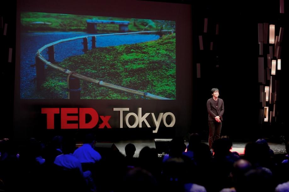 Eisuke Tachikawa speaking at TEDxTokyo 2013
