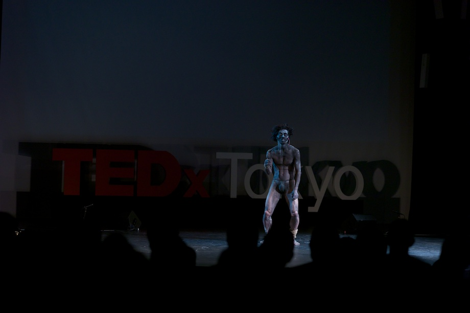 Taketeru Kudo performing at TEDxTokyo 2013
