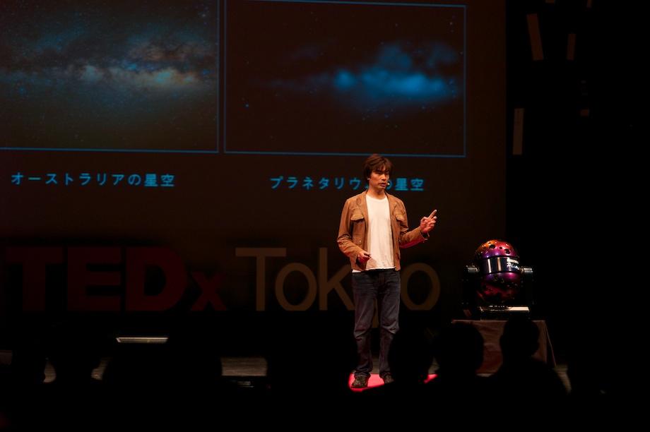 Takayuki Ohira speaking at TEDxTokyo 2013