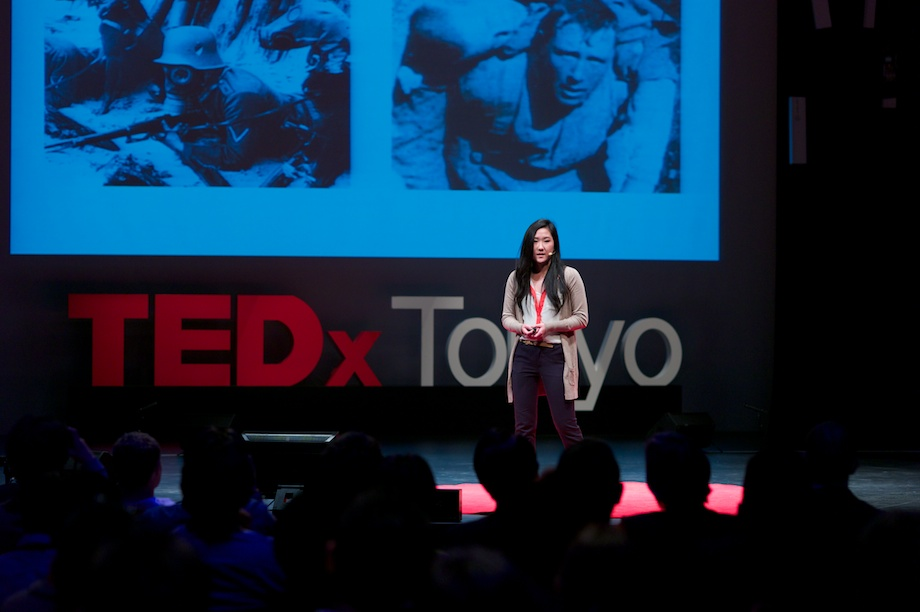 Kaiki Kayo speaking at TEDxTokyo 2013