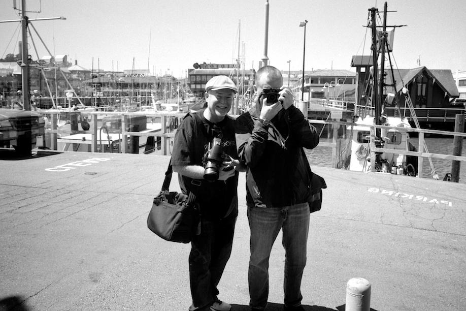 John Hall and Dave Powell