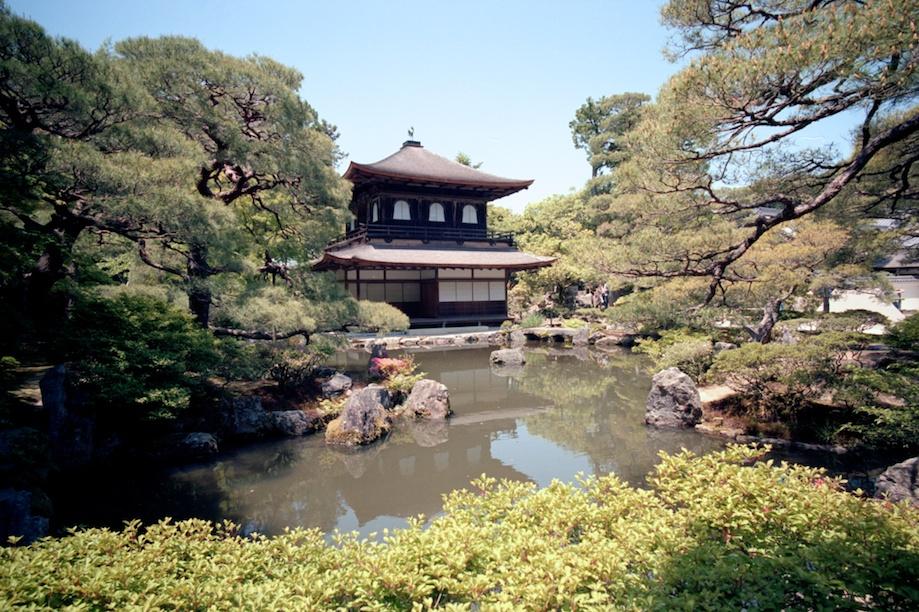 Ginkakuji Temple in Kyoto