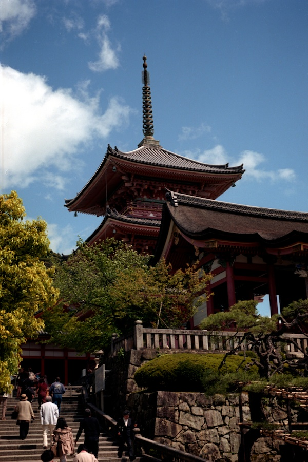 Kiyomizu Temple in Kyoto