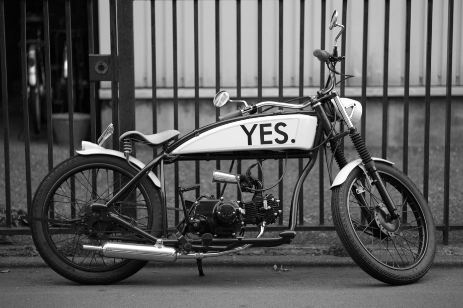 Yes Motorcycle in Jiyugaoka