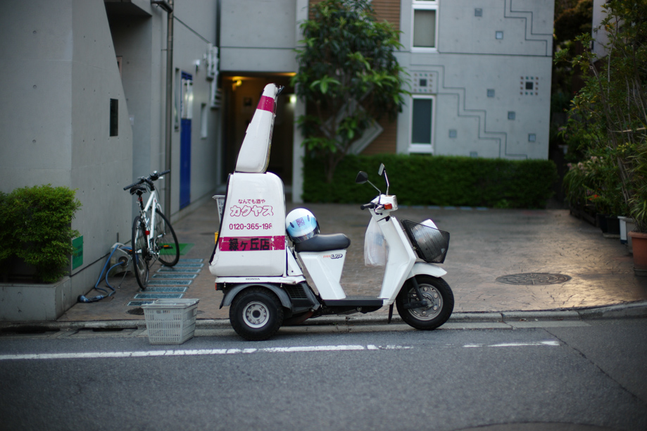 Delivery Bike in Tokyo