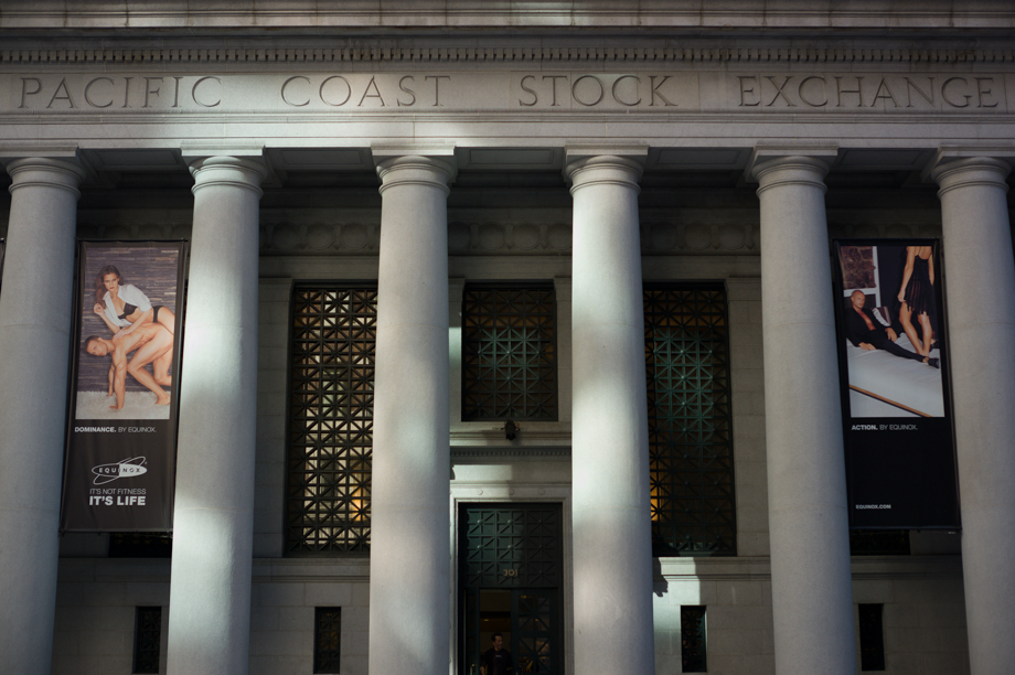 Stock Exchange in San Francisco