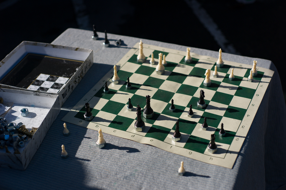 Chess on the streets in San Francisco