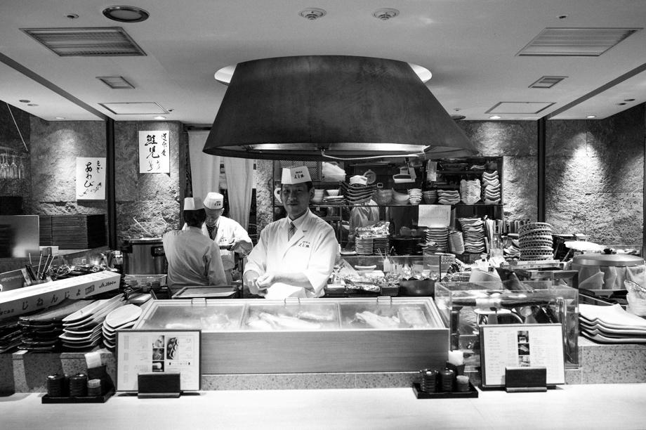 Sushi in Marunochi