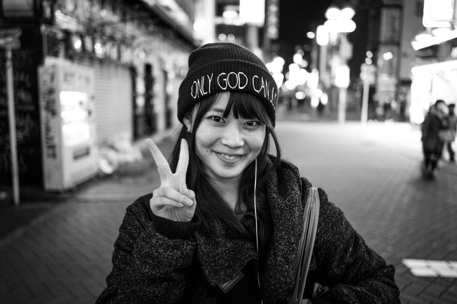 Street Portraits in Shibuya