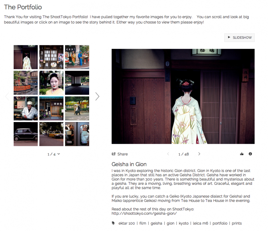 The ShootTokyo Portfolio and Print Shop