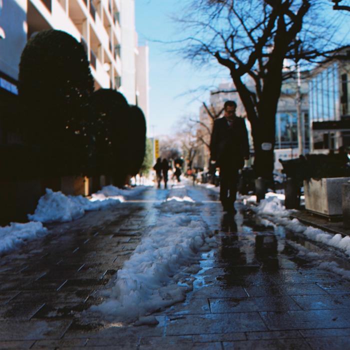 Snowy Jiyugaoka