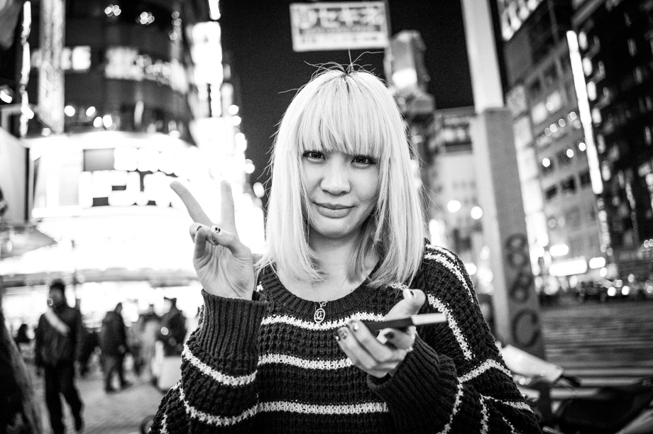 Girl in Shinjuku