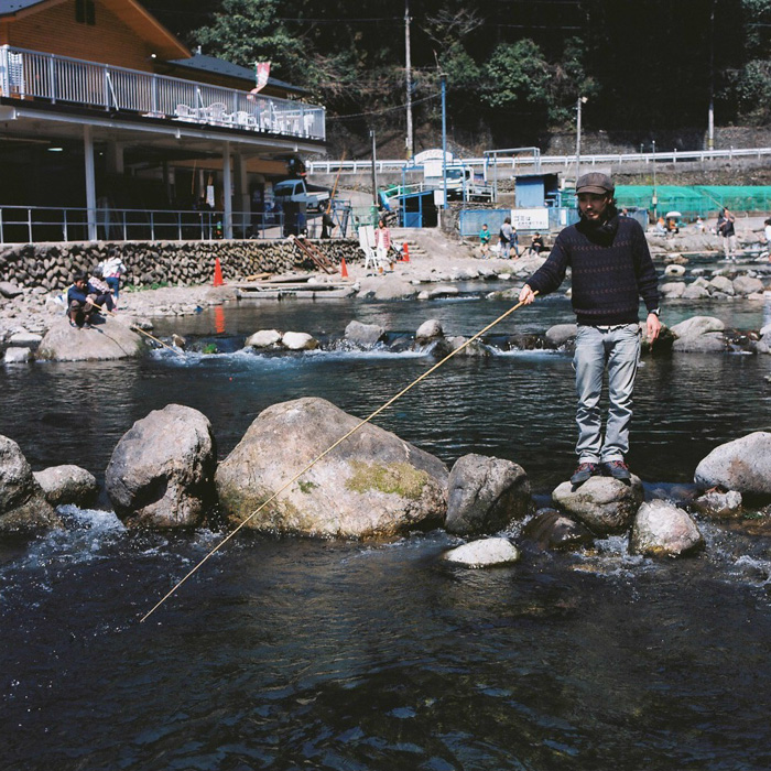 Akigawa International Trout Fishing Park