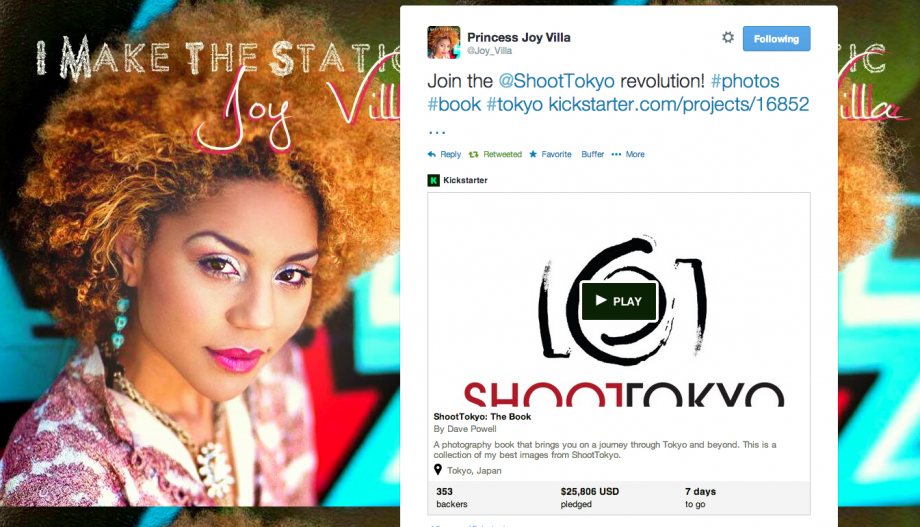 Joy Villa on Twitter